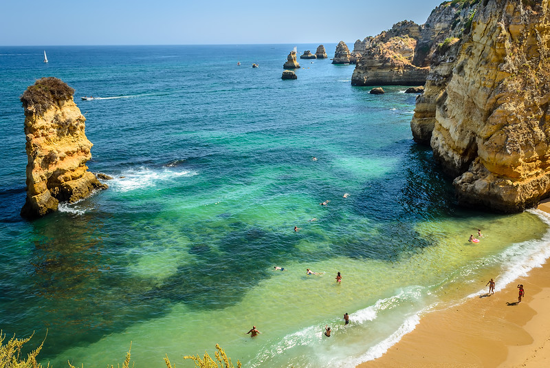 Original Lagos Beach Portugal Image By Messagez.com