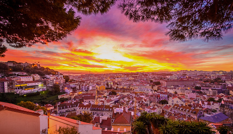 Best of Lisbon Sunset Photography 3 By Messagez com