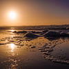 Portugal Guincho Beach at Sunset Photography 2 By Messagez com