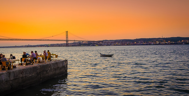 Best of Lisbon Bridge Sunset Photography 4 By Messagez com