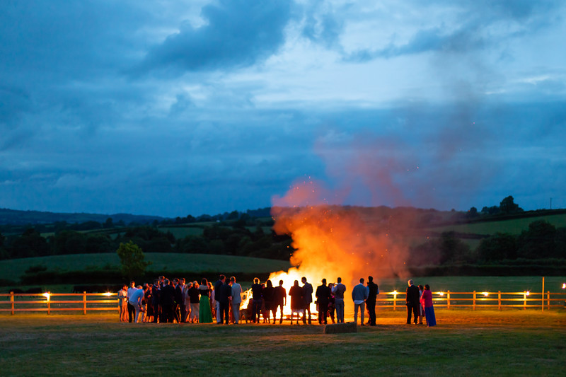 A wedding in Dorset