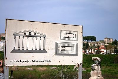 Temple of Artemesis - Ephesus Turkey (April 2010)