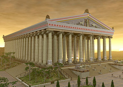 Model of Temple of Diana (Ephesus)