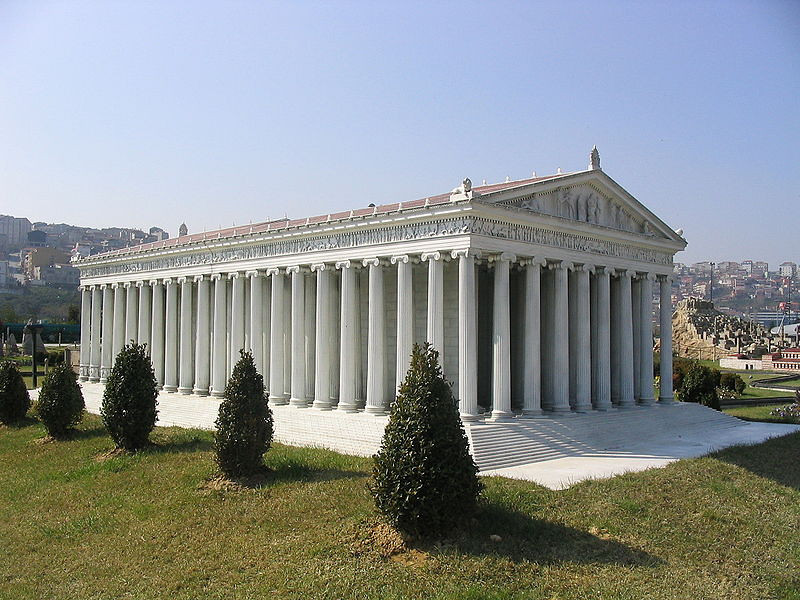 Model of Temple of Diana