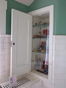 More bathroom cabinets.