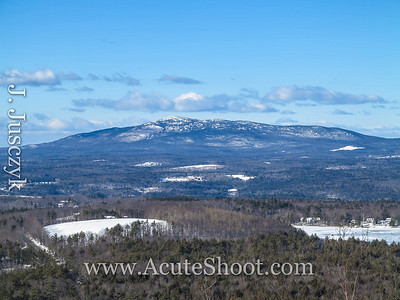 Jonathan and I drove up to NH for a snowy hike up Pack Monadnock and across to North Pack Monadnock. This is a view of Mount Monadnock from the start. We hiked that in the fall... http://jaimie.acuteshoot.com/2012/10/mt-monadnock-nh-fall-hike/