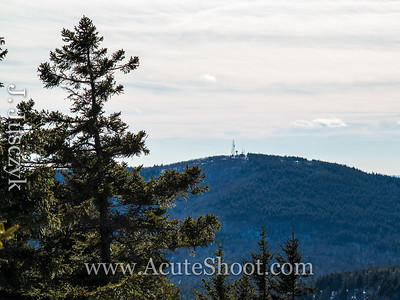 The view of Pack Monadnock from North Pack Monadnock.