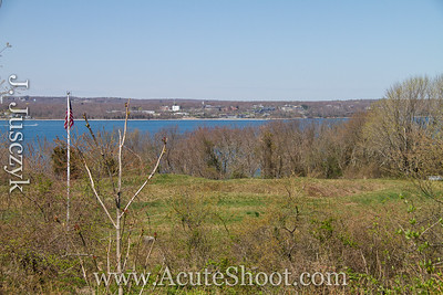 View of Narragansett Bay. April 2013