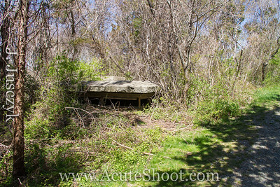 An old bunker. April 2013