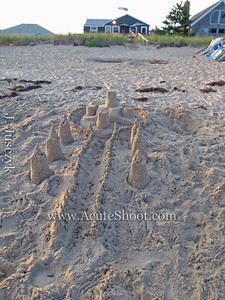 11th August 2010 Westerly Beach sandcastle.