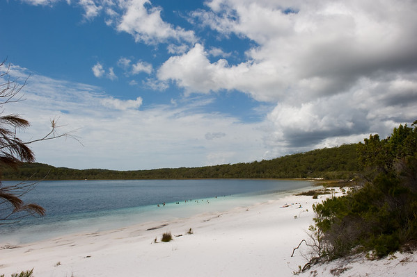 Lake Billabeen, another hidden gem on Fraser Island