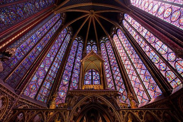 St. Chappelle in Paris