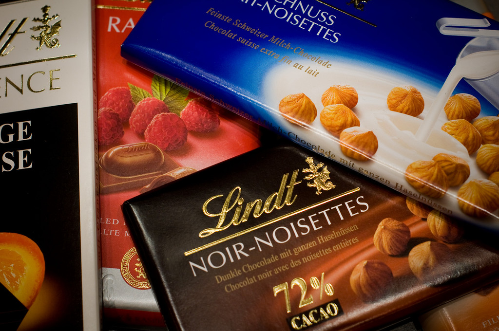 yumm.. lots of swiss chocolate..
