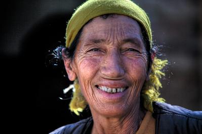 Local Kazakhs Woman, Burqin (布尔津)