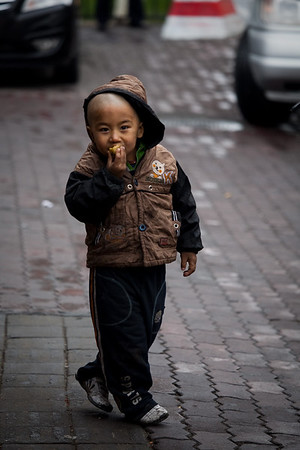 A Kid at Urumqi