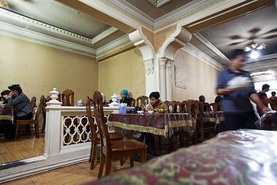 Insid of  a Urumqi Restaurant