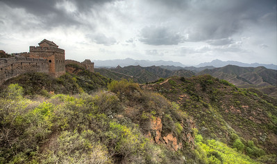 Great Wall in May