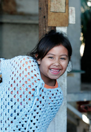 A little girl in Ensenada, Mexico