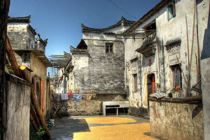 Village in An Hui (China) 婺源 (安徽)