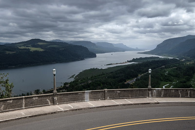 View of Columbia River Gorge from Vista House