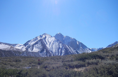 Mount Morrison, on the trail to Convict Lake