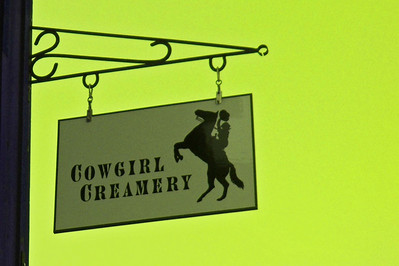 Cowgirl Creamery's shop is in Point Reyes Station. www.cowgirlcreamery.com