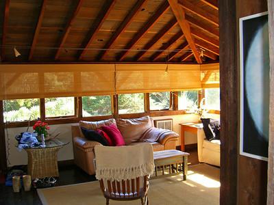 Living room, Juniper House, Bolinas