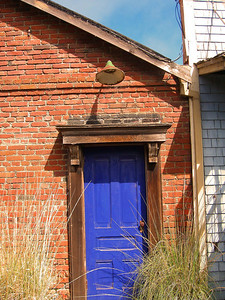 Reds and blues of Point Reyes Station
