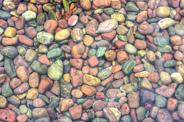 pebbles, Lake McDonald, Glacier National Park