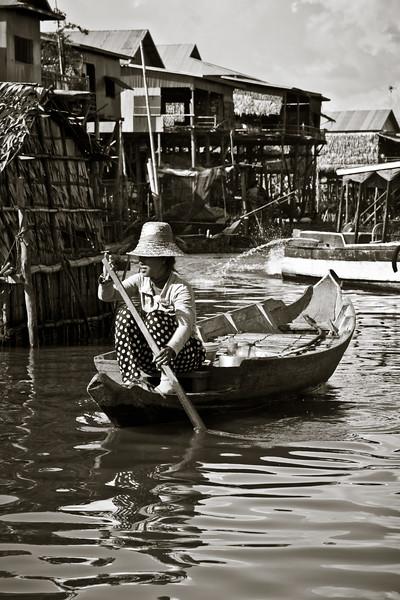 { floating village }