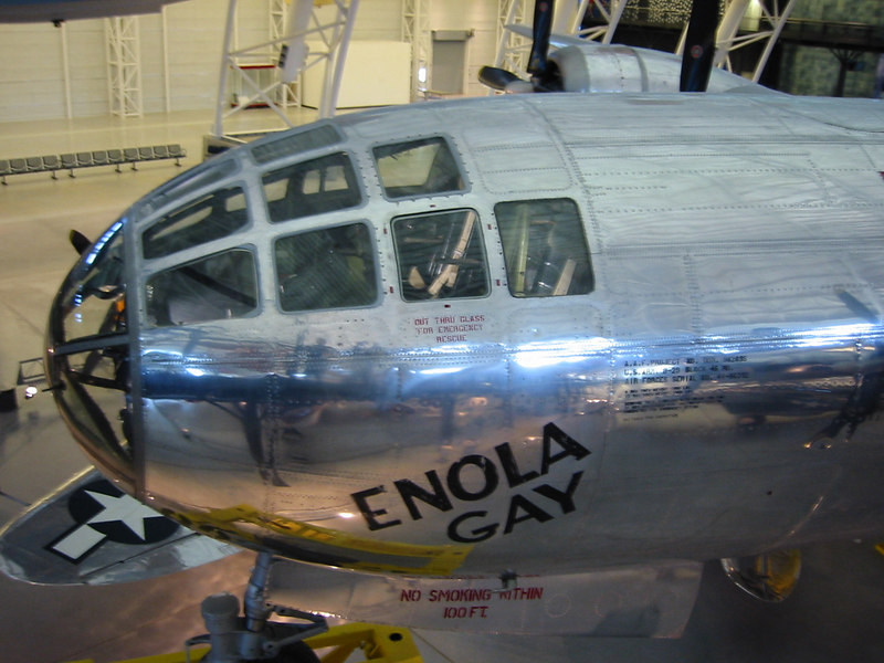 This was these Enola Gay