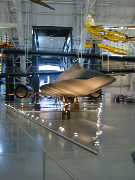SR-71 Blackbird (Front view)