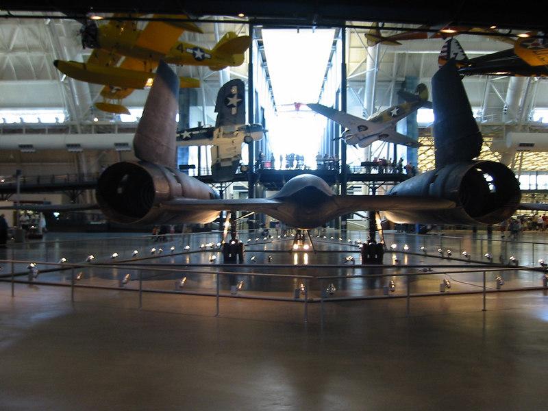 SR-71 Blackbird (Back)