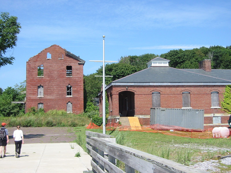 Old Fort Andrews Buildings at Peddock's Island