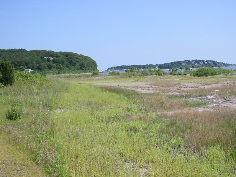 Just one side of Peddock's island is the old fort.  The other side is not as wooded and is privately owned with many summer cottages.