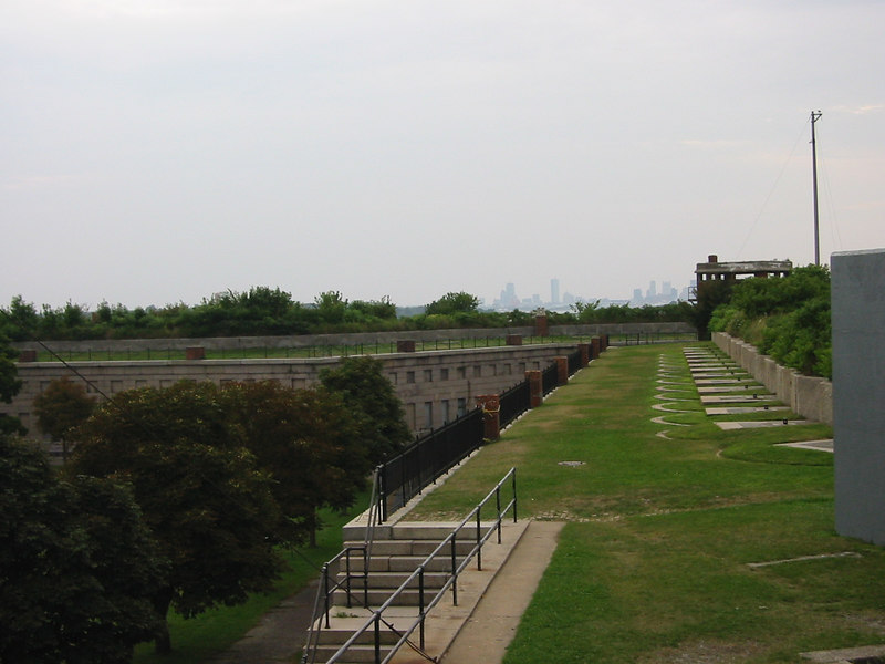 Top of Fort Warren. George's Island