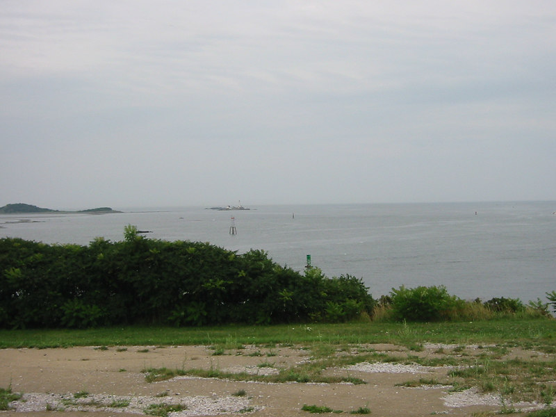 View from Fort Warren. George's Island