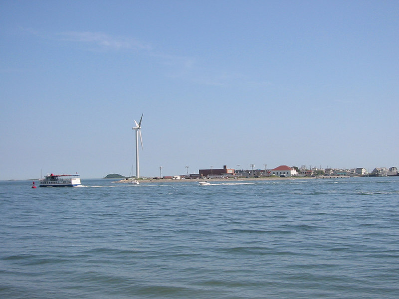 Wind Turbine at Hull. Peddock's Island