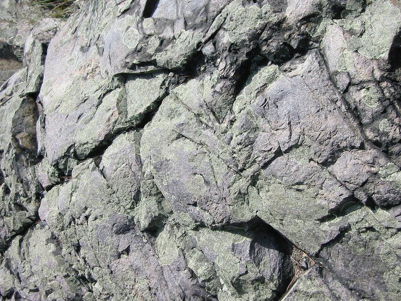Rocks in the Blue Hills reservation