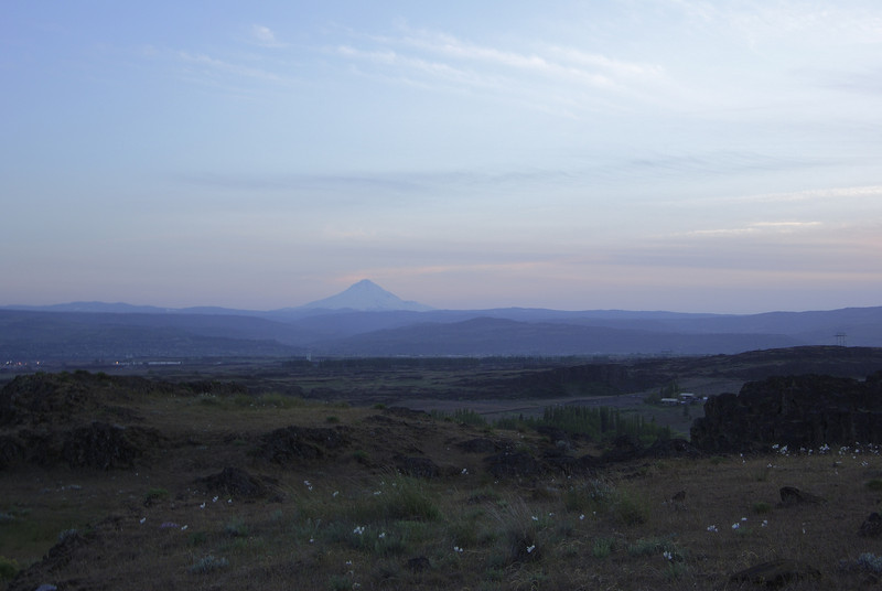 Mount Hood from Horsethief Butte.