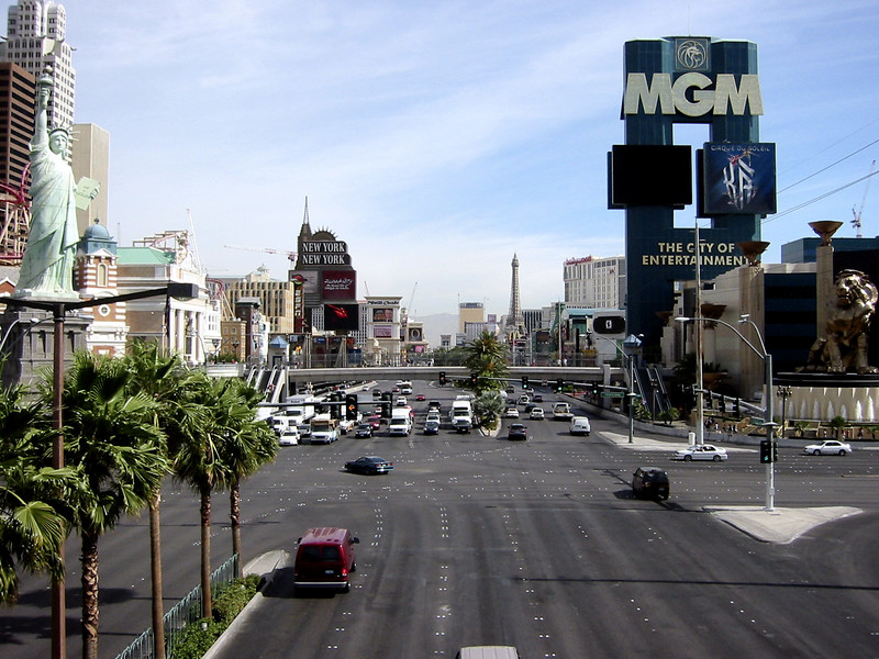 The Strip during the day