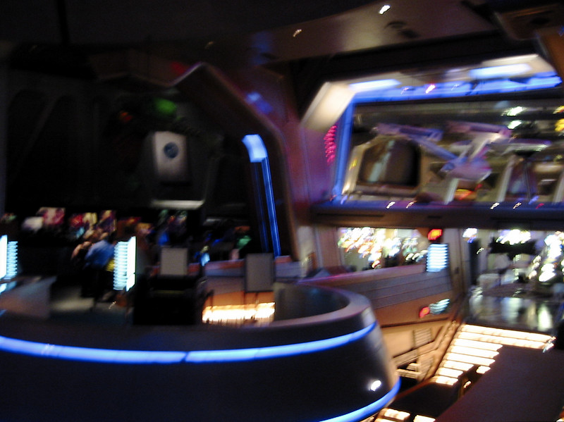 """View toward the entrence of the """"Star Trek Experience"""""""