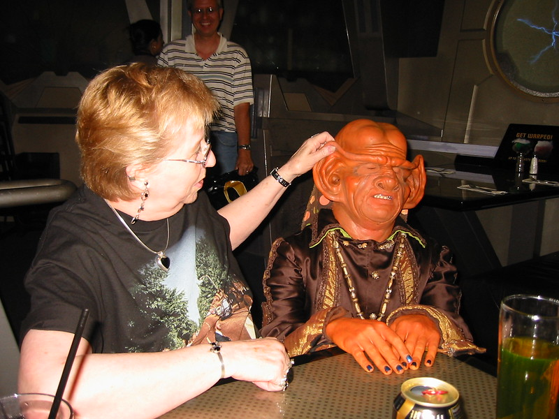 My mom getting it on with a Ferengi