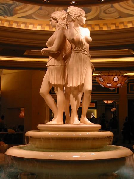 The Three Graces at Caesar's Palace