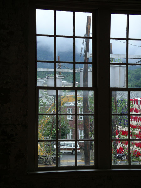 Courtyard of MassMoCA