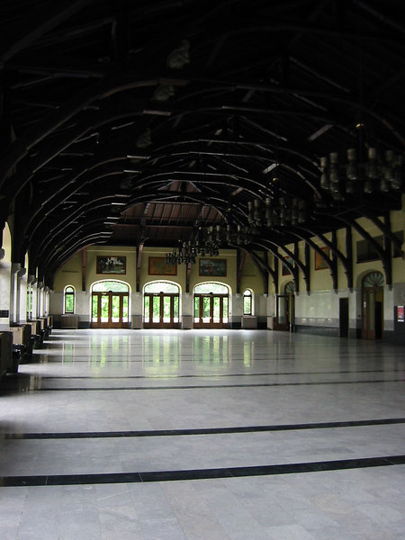 Inside of the hall