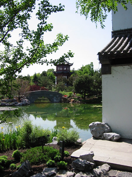 Chinese Garden - Montreal's Botanical Garden was billed as one of the best in the world. I've only been to three but from what I say they might be right.