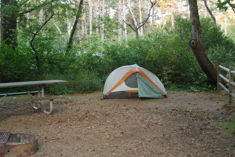 Camping at Beachside State Park