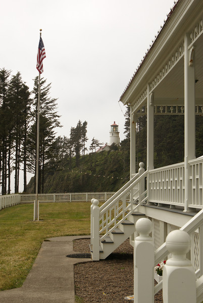 Heceta Lightkeeper's house. Waiting.