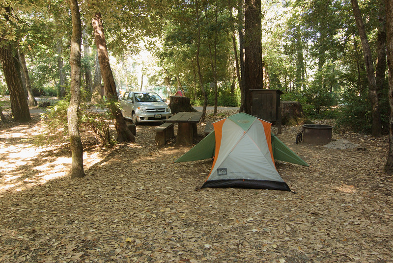 Camping at Standish-Hickey State Recreation Area.